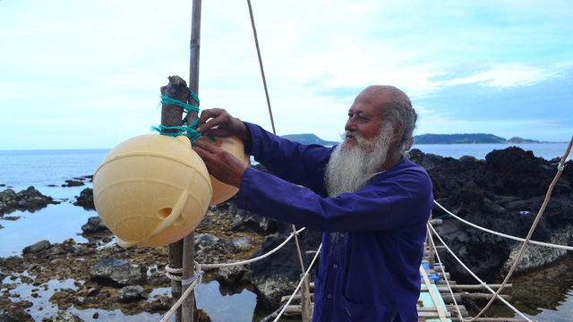 15 gia đình già, trẻ, lớn, bé đều làm du lịch ở đảo Bé - Ảnh 2.