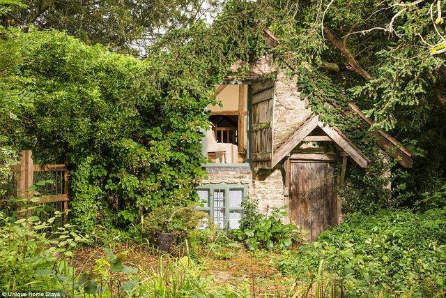 Thăm căn nhà 500 năm tuổi nằm giữa rừng sâu ở Anh - Ảnh 4.