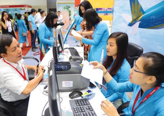 Vietnam Airlines, Jetstar ưu đãi hàng ngàn vé giá rẻ tại hội chợ ITE - Ảnh 1.