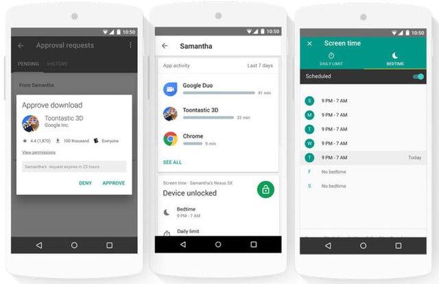 Google tung ứng dụng miễn phí quản lý trẻ em từ xa Family Link