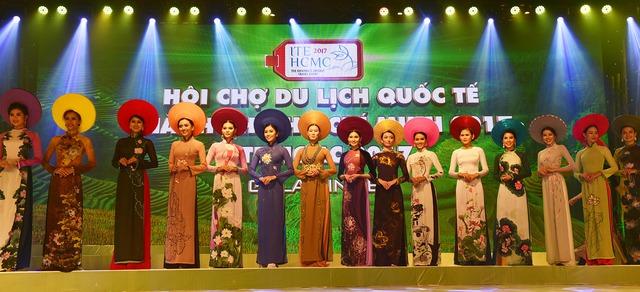 Đêm Việt Nam tại Hội chợ Du lịch Quốc tế TP.HCM - Ảnh 1.