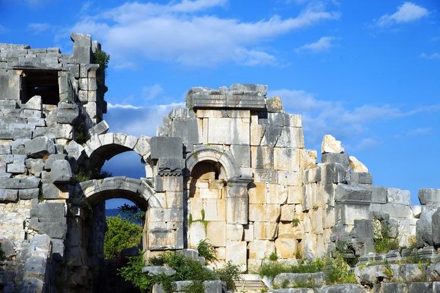 Đến Thổ Nhĩ Kỳ khám phá mộ cổ Myra Tomb - Ảnh 4.
