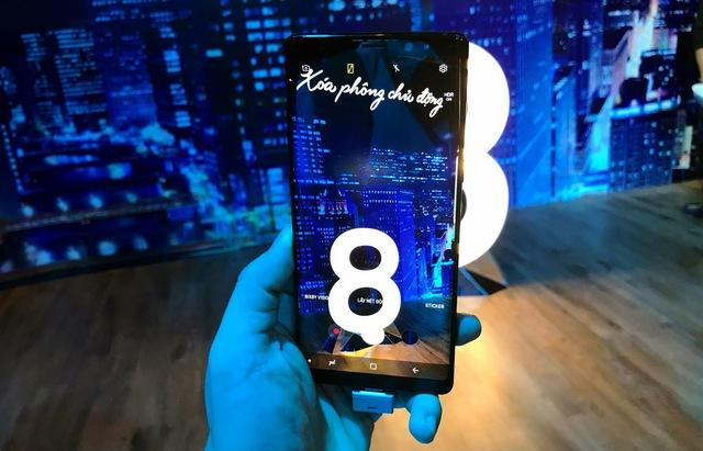 Samsung Galaxy Note 8 ra mắt tại Việt Nam - Ảnh 1.