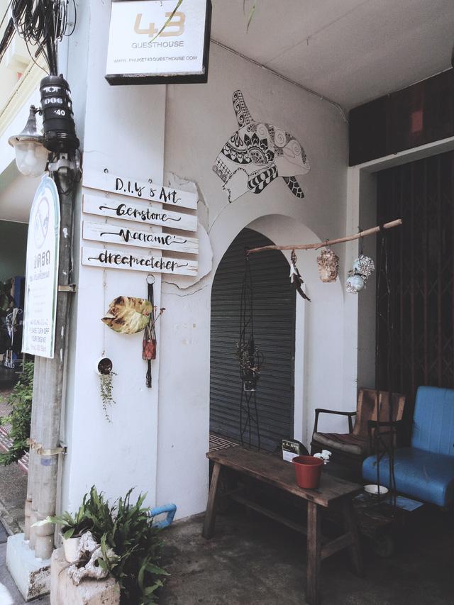 Khám phá phố cổ trăm năm ở Phuket - Ảnh 8.