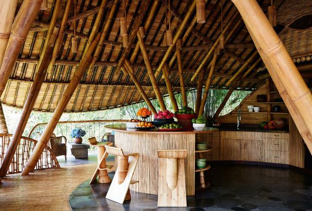Biệt thự bằng tre độc đáo ở Bali - Ảnh 8.