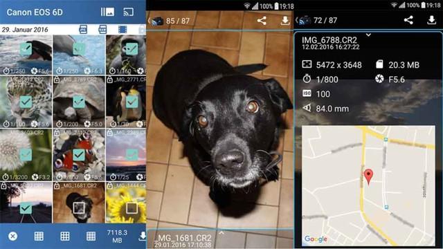 5 ứng dụng Android tốt nhất cho máy ảnh Canon - Ảnh 1.
