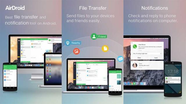 5 ứng dụng chuyển dữ liệu từ điện thoại Android sang PC - Ảnh 1.