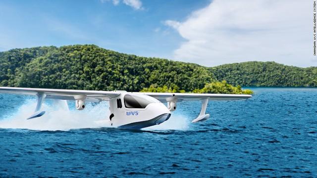 Máy bay không người lái có thể cất cánh và hạ cánh trên mặt nước - Ảnh 2.