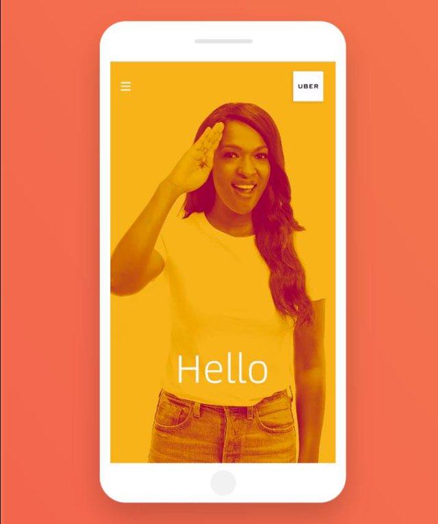 Ứng dụng Uber hỗ trợ thủ ngữ cho người khiếm thính - Ảnh 2.