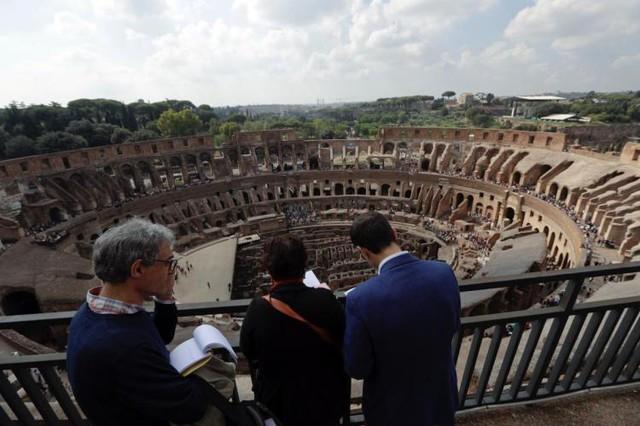 Đấu trường Colosseum mở cửa tầng cao nhất cho du khách - Ảnh 2.