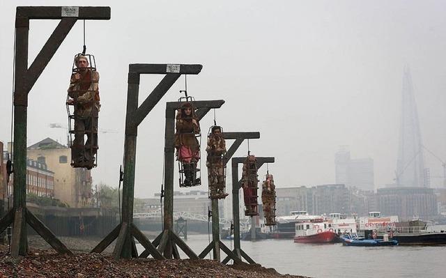 'Bến treo cổ' bên bờ sông Thames - Ảnh 2.
