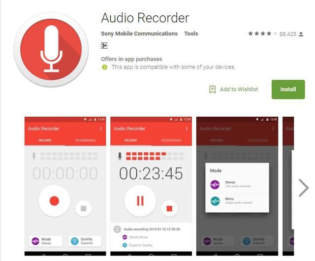 10 ứng dụng ghi âm tốt nhất cho thiết bị Android - Ảnh 1.