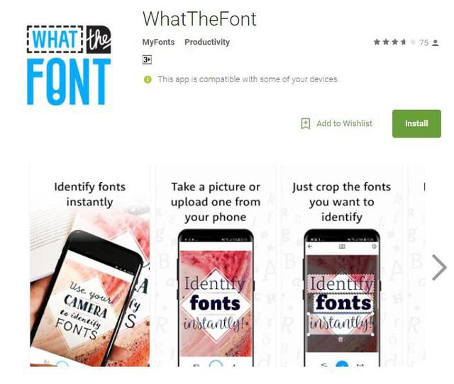 Ứng dụng nhận diện font chữ cực kỳ hữu ích - Ảnh 1.
