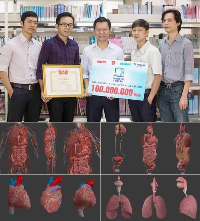 Ứng dụng 3D trong Y học của ĐH Duy Tân đạt giải Nhất Nhân tài Đất Việt - Ảnh 2.