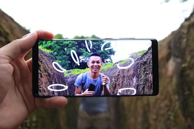 Galaxy Note8 và những chuyến đi nhẹ mà chất của Tâm Bùi - Ảnh 2.