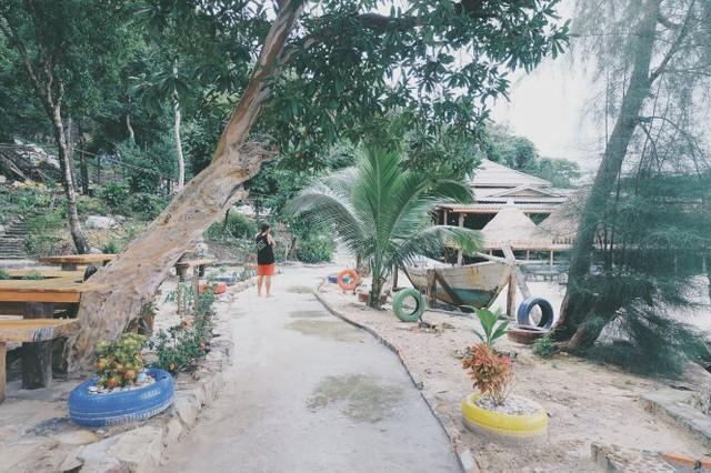 Biển xanh, cát trắng, nắng vàng cùng em ở Koh Rong - Ảnh 11.