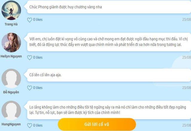 Tiếp sức tuyển thủ Việt Nam qua tin nhắn trực tiếp - Ảnh 6.