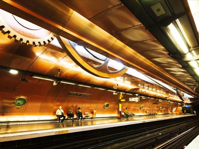 Những nhà ga đẹp nhất thế giới chờ bạn đến tham quan - Ảnh 3.
