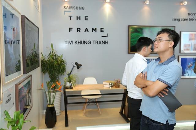 Đắm mình trong không gian nghệ thuật tại triển lãm The Frame - TV Khung Tranh - Ảnh 4.
