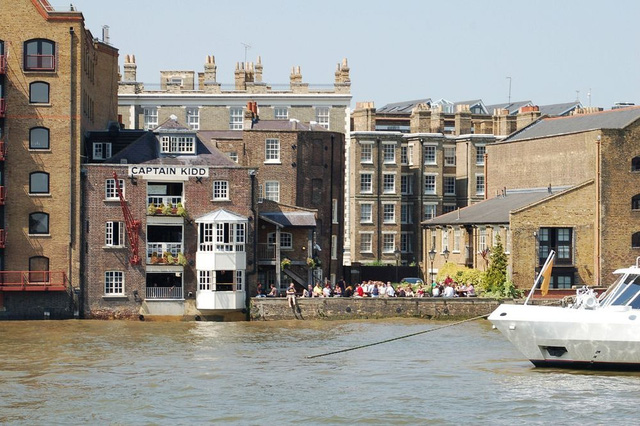 'Bến treo cổ' bên bờ sông Thames - Ảnh 4.