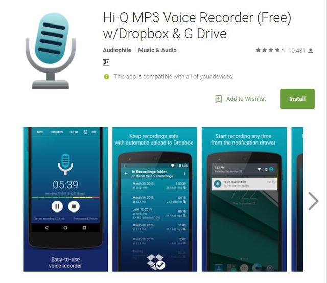 10 ứng dụng ghi âm tốt nhất cho thiết bị Android - Ảnh 4.