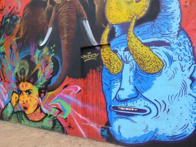 Đường phố Bogotá thu hút du khách nhờ Graffiti - Ảnh 5.