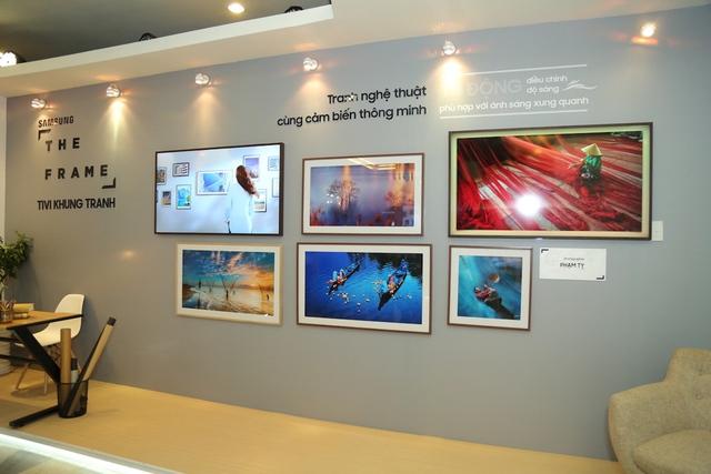 Đắm mình trong không gian nghệ thuật tại triển lãm The Frame - TV Khung Tranh - Ảnh 5.