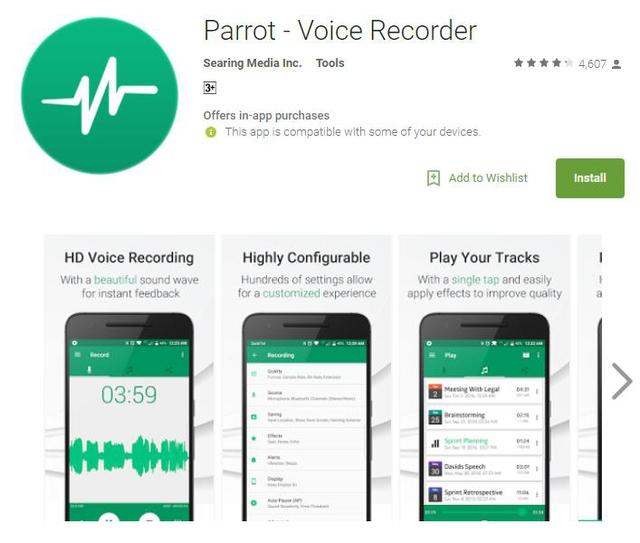 10 ứng dụng ghi âm tốt nhất cho thiết bị Android - Ảnh 5.