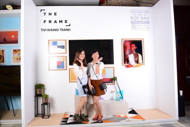Đắm mình trong không gian nghệ thuật tại triển lãm The Frame - TV Khung Tranh - Ảnh 6.