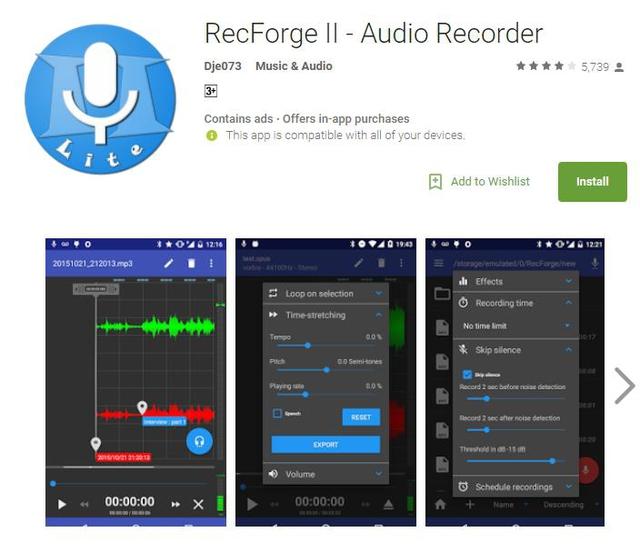 10 ứng dụng ghi âm tốt nhất cho thiết bị Android - Ảnh 6.