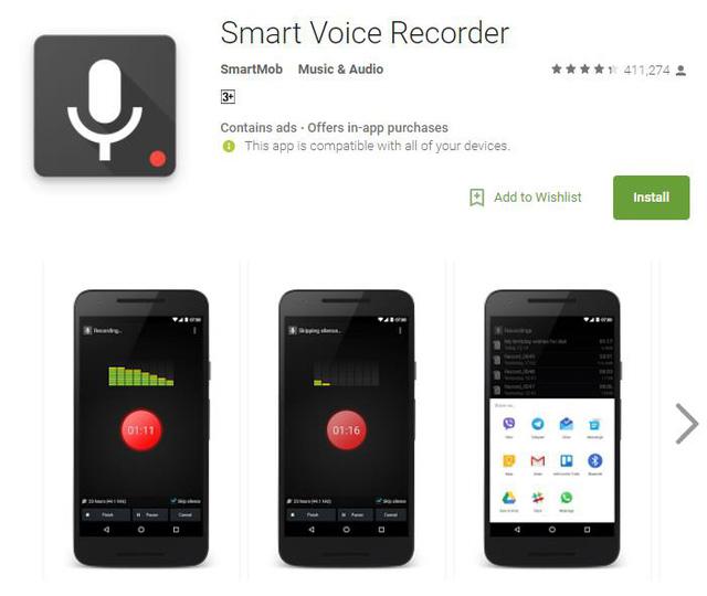 10 ứng dụng ghi âm tốt nhất cho thiết bị Android - Ảnh 7.
