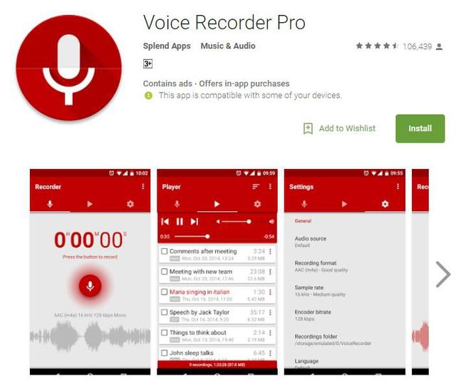 10 ứng dụng ghi âm tốt nhất cho thiết bị Android - Ảnh 9.