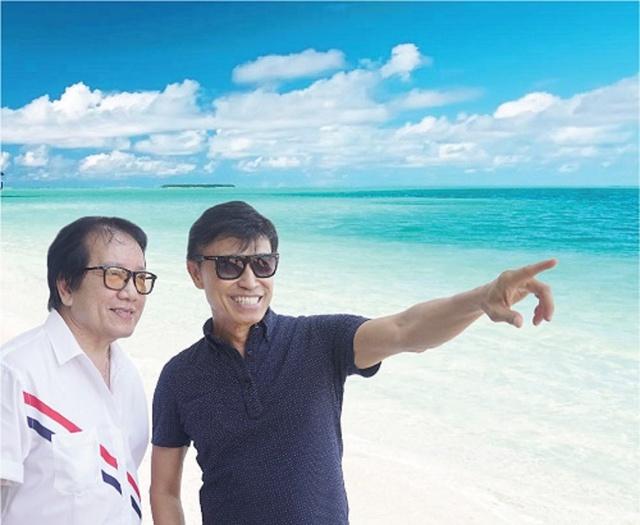 Elvis Phương và Tuấn Ngọc tìm chốn bình yên tại Phú Quốc - Ảnh 1.