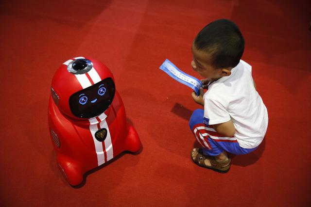Bất ngờ trước công nghệ robot qua 13 bức ảnh - Ảnh 5.