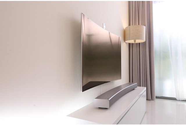 Lột xác phòng khách bằng 1 thao tác với TV Samsung - Ảnh 3.
