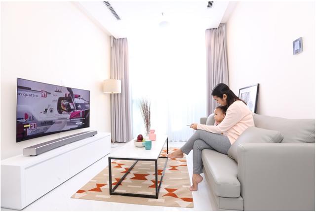 Lột xác phòng khách bằng 1 thao tác với TV Samsung - Ảnh 5.