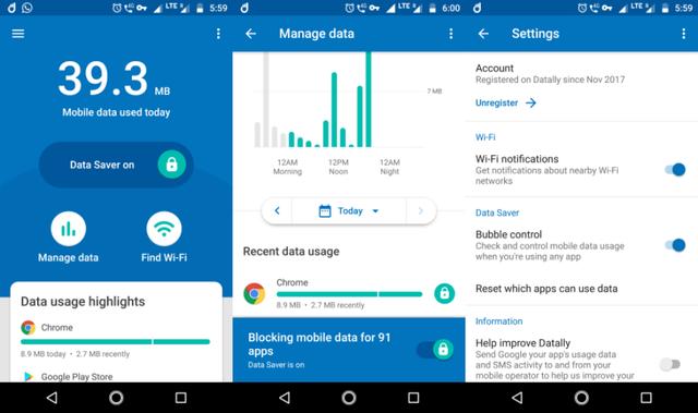 Quản lý gói cước mạng 3G và 4G với Google Datally - Ảnh 3.