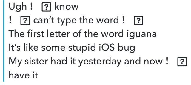 """Một số người dùng iPhone phàn nàn không gõ được chữ """"I"""" - Ảnh 2."""