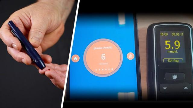 Kiểm tra lượng đường trong máu bằng smartphone - Ảnh 1.