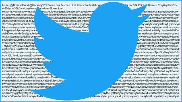 Twitter bị 'giỡn mặt' với đoạn tweet 35 ngàn ký tự - Ảnh 1.