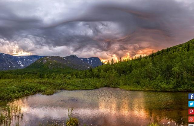 Du ngoạn qua những bức ảnh cực đẹp về thời tiết - Ảnh 10.
