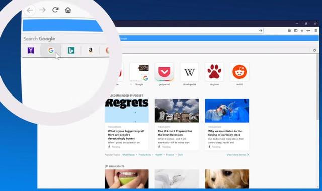 Google trở lại là công cụ tìm kiếm mặc định trên Firefox - Ảnh 1.