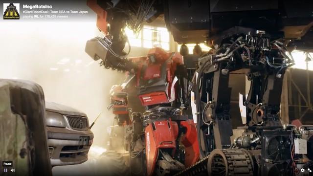 Đại chiến robot, Nhật chịu thua trước Mỹ - Ảnh 1.