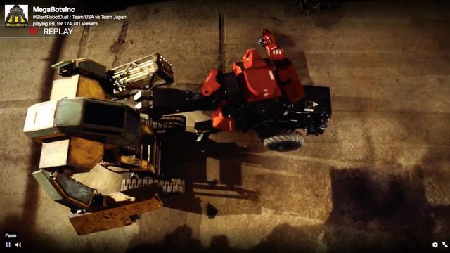 Đại chiến robot, Nhật chịu thua trước Mỹ - Ảnh 13.