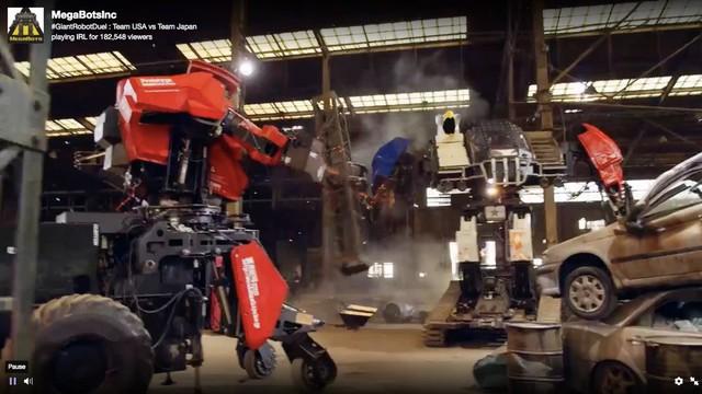 Đại chiến robot, Nhật chịu thua trước Mỹ - Ảnh 6.