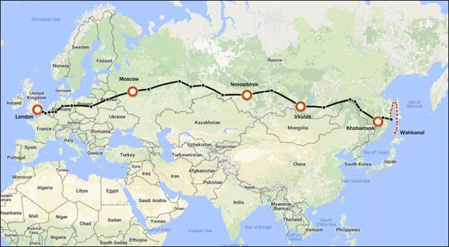 Đi chơi từ London (Anh) đến Tokyo (Nhật Bản) trên tuyến đường sắt lịch sử - Ảnh 2.