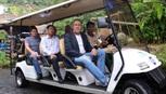 Hai Bộ trưởng Nga thưởng thức ẩm thực tại Núi Thần Tài Đà Nẵng