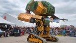Robot Mỹ khổng lồ thách đấu robot Nhật