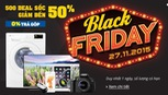 Các trang bán lẻ trực tuyến tưng bừng đua theo Black Friday