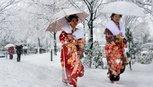 Ngắm Kyoto đẹp như cổ tích mùa tuyết rơi